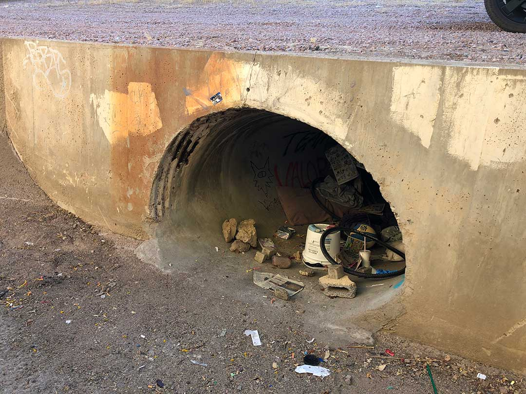 ADOT-Tempe-Culvert-Before